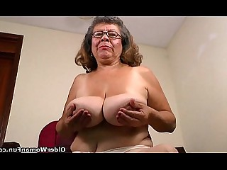 HD Mature MILF Nylon Panties Stocking Cougar BBW