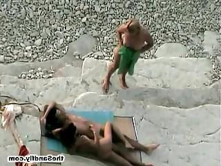 Handjob Fuck Blowjob Cumshot Beach Babe Amateur Public