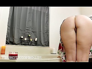 Bathroom MILF Mammy Ass Fuck Doggy Style