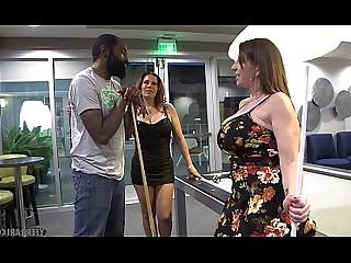 Hot Interracial Lesbian MILF Nasty Pornstar Teen Threesome