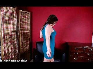 Cougar HD Mammy Mature MILF Nylon Panties Stocking
