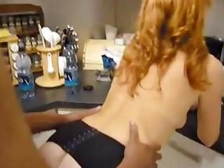 Black Car Big Cock Interracial MILF