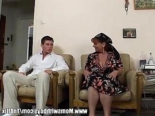 Blowjob Cumshot Fuck Hairy Hot Mammy Mature MILF