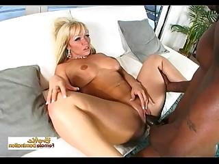 Hot Ass Big Tits Black Blonde Big Cock Interracial Cougar