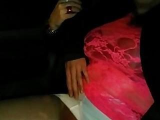 Big Tits Boobs Cougar Dress MILF Nylon Panties