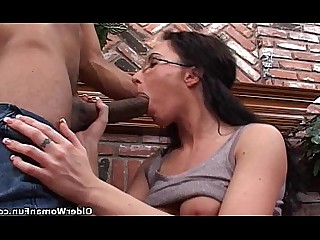 Shower Mammy MILF Hot Mature HD Hardcore Glasses