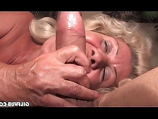 Big Tits Blowjob Granny Hairy Mature Nasty Old and Young Teen