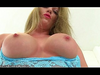 Stocking Solo Princess MILF Mature Masturbation Mammy HD