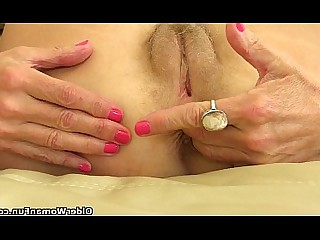 Fingering Granny HD Mature MILF Prostitut Stocking Ass