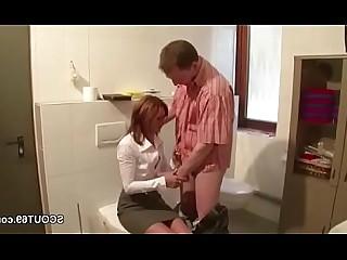 Cumshot Hot Mammy Mature MILF Uniform