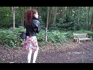 Car Fingering Mammy Masturbation Mature Outdoor Posing Public