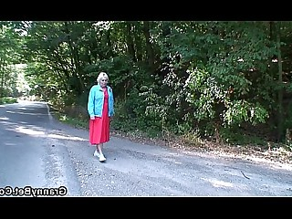 Gang Bang Granny Hot Mature Old and Young Outdoor Pleasure Pussy