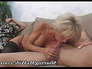 Blonde Blowjob Big Cock Cumshot Doggy Style Fuck Hot Huge Cock
