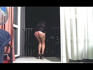 Panties Oil Ass Nylon MILF Dress Cougar Big Tits