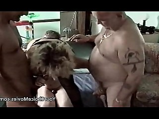 Cumshot BBW Fatty Foursome Friends Group Sex Homemade Hot