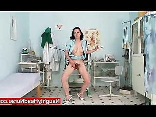 Hairy Mammy Mature MILF Shaved Uniform Bus