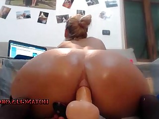 Mature Blonde Dildo Hot Ass Angel Anal