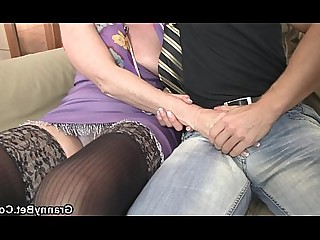 Big Cock Foot Fetish Granny Hot Mature Oil Old and Young Pleasure