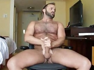 Hairy Mature Solo Daddy
