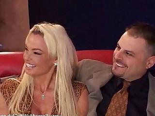 Wife Amateur Blonde Brunette Bus Couple Creampie Cumshot