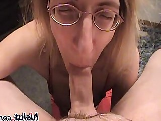 Ass Blonde Blowjob Big Cock Cumshot Deepthroat Facials Glasses