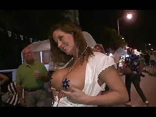 Amateur Ass Big Tits Mature MILF Nude Outdoor Party