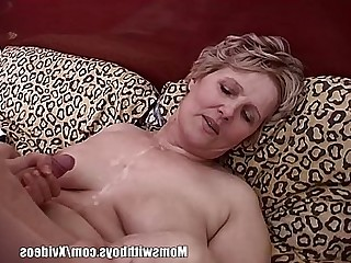 BBW Wife Teen Blonde Cumshot Friends Old and Young MILF