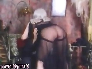 Vintage Schoolgirl Mature Granny Ass Busty Bus Bathroom