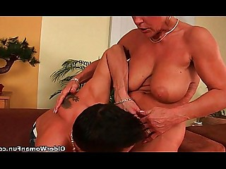 Teen Cougar Granny HD Hairy Old and Young Mature