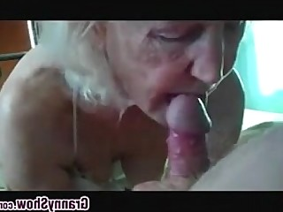 Big Cock Hardcore Granny Double Penetration Mature Homemade Blowjob POV