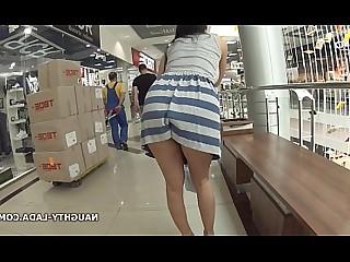 Blowjob MILF Nasty Nude Public Skirt Upskirt