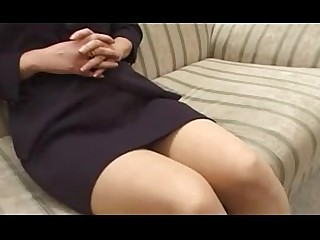 Ass Glasses Granny Japanese Mature