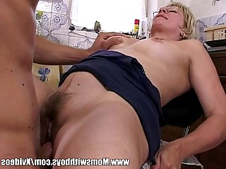 Ass Blonde Blowjob Doggy Style Fuck Glasses Granny Hairy
