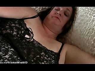 Mature Mammy Solo HD Granny Fatty BBW Cumshot