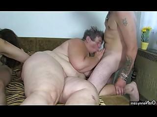 Granny Fatty Mature Big Tits Toys Teen Old and Young Masturbation