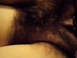 Couple Fuck Hairy MILF Pussy Shower Squirting Wife