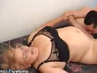 Old and Young Mature Granny Hardcore Glasses BBW Fuck Ass
