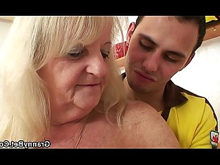 Ride Blonde Granny Hot Teen Mature Old and Young Pleasure