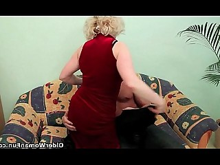 Mature Teen Cougar Old and Young Granny HD Mammy Cumshot