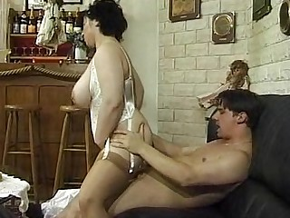 BBW Fatty Gang Bang Granny Mature MILF