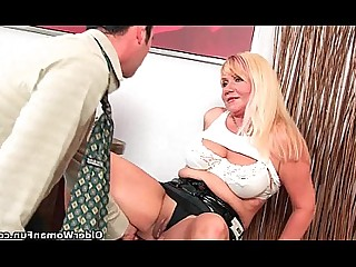 Granny Blowjob Cumshot HD Big Cock Hot Mammy Mature