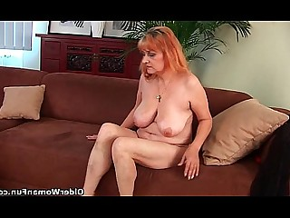Hairy Big Tits Solo Redhead Mature Mammy HD Granny
