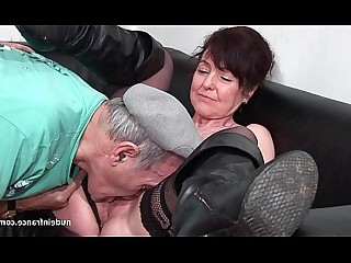 Threesome Mature Lingerie Hot Hardcore Facials Fuck Cum