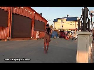 Mammy MILF Nasty Nude Outdoor Public