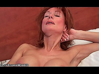 Redhead Pussy Mature Mammy HD Granny Dildo Cougar