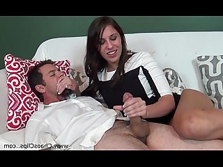 Sleeping Cum MILF Handjob Jerking Cumshot Hot