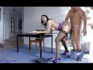 Stocking Mature Hot High Heels Fuck Hardcore Double Penetration Cumshot
