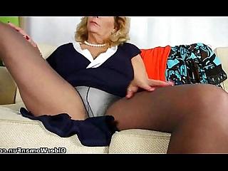 Panties Pussy Stocking HD Granny Ass Massage Masturbation