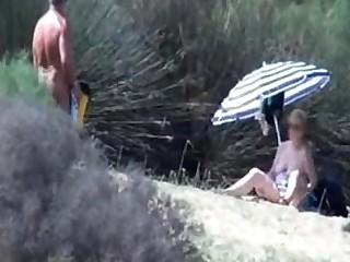 Amateur Beach Granny Masturbation Mature Public