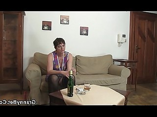 Old and Young Mature Hot Granny Slender Teen Ride Pussy